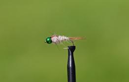 Hare´s Ear BH Hullinglös metalic green - BH Hare´s ear hullinglös metalic green str 10