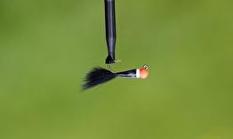 Isfiskejigg black redhead - Isfiskejigg black redhead str 10