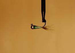 Hullinglös tungstensjigg Chartreuse