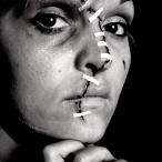 Domestic Violence - Stitched cut