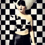 Chess Airbrushed Body Paint