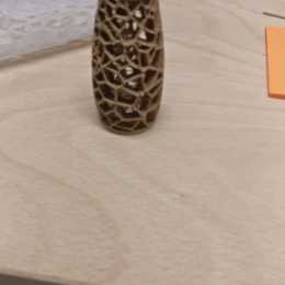 Example of wood filament for 3D-Printer