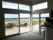 Skjutdörrar och fasta PVC-fönster