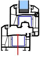 Montering av PVC-fönster med skruv