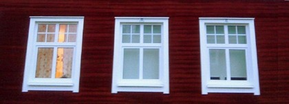 Spröjsade fönster från AlfaFönster