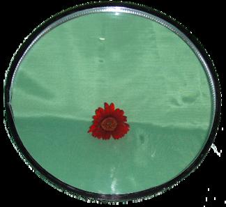 Rund glaskassett 1092mm