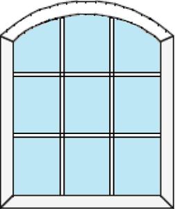 Stallfönster i PVC