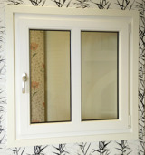Sido/underhängt fönster med mittpost 2