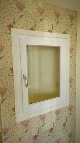 Stängt Tilt/Turn-fönster