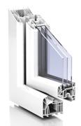 PVC-fönster Trocal 88+ profil
