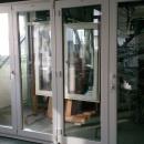 Vikdörrar i PVC 3