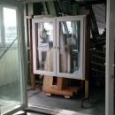 Vikdörrar i PVC 4