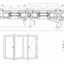 Vikdörrar i PVC 10