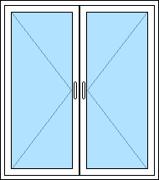Utåtgående 2-luftfönster 1