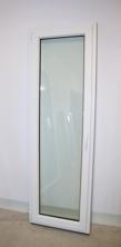 Inåtgående altandörr i PVC, stängd