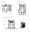 Vikdörrar i aluminium, trösklar