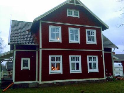 Specialfönster: Spröjsade fönster med mittposter