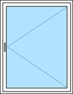 Utåtgående fönster 1