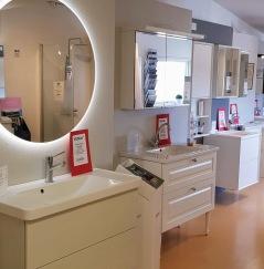 Utförsäljning badrumsmöbler från våran utställning