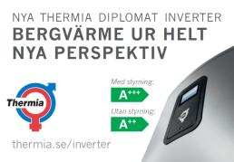 Nya Thermia Diplomat Inverter - Bergvärme ur helt nya perspektiv