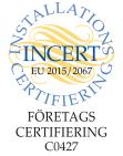 Våran företagscertifiering för kylarbeten