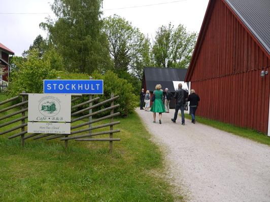 Stockhultgårdens Tebod är ett mysigt café och tebod mitt ute i skogarna i trakten av Strömsnäsbruk.