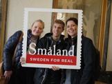 Ann-Sofie, Jakob och Stine från Glasriket