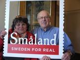 Sabine och Jan-Olof från Siggaboda Damm