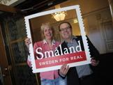 Lena med Andreas från VisitSweden, Tyskland