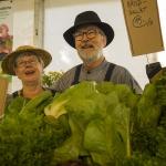 Fröbergs med fräscha grönsaker
