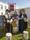 Jim från Wisingsö, Siw från Sagomuseet och självaste fru Stephens från Huseby i tidstypiska kläder.