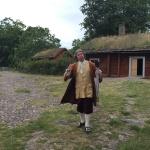 Nästa stopp var ett besök hos Carl von Linné på Linnés Råshult