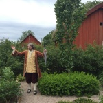 Linné berättar om trädgården och växterna