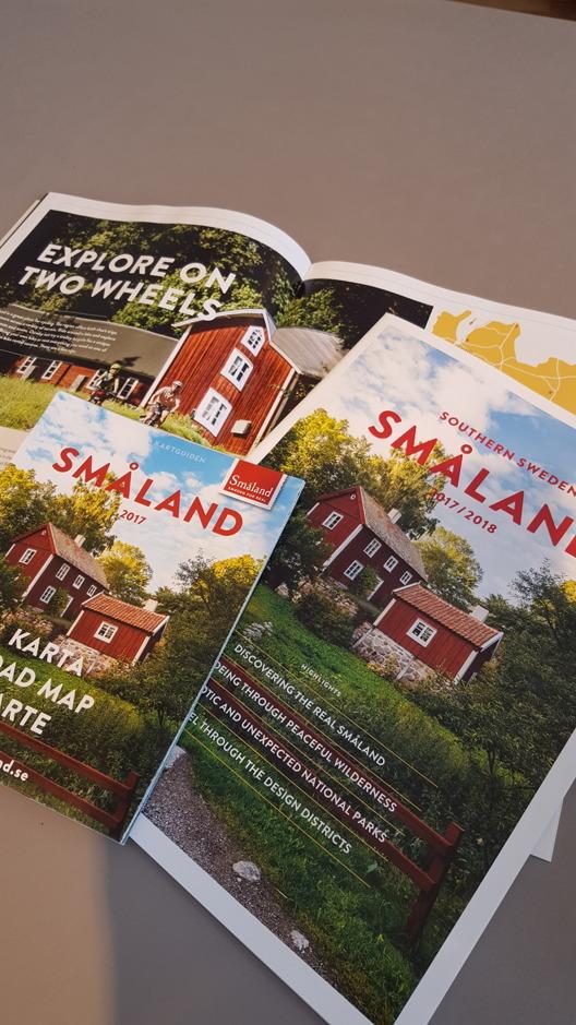 Magasinen finns på tyska och engelska