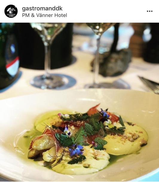 Danska matbloggaren Gastromand har 33000 följare på instagram