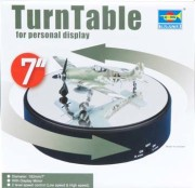TURNTABLE, CROME PLATED (182X42MM)