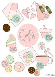 Café motiv