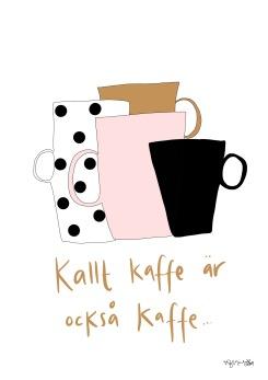 Kaffe motiv - A5