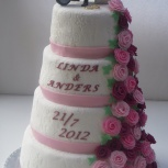 bröllopstårta vetlanda