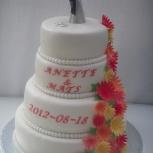 bröllopstårta hult