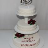 bröllopstårta nässjö