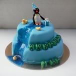 barntårta pingu
