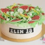 sallad tårta