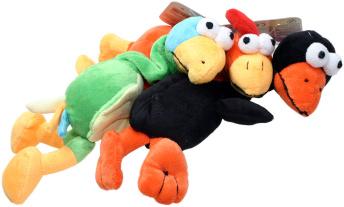 Mjukisdjur fågel med kvitter.