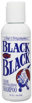 B) Black on Black schampo (provflaska)