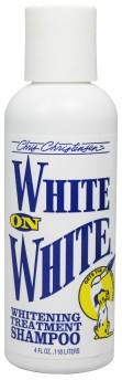 B) White on White schampo (provflaska)