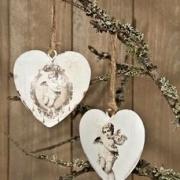 Hjärta med ängel
