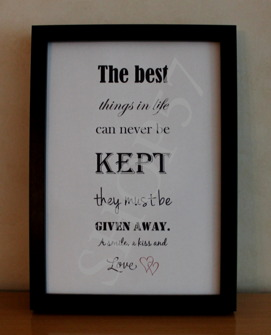 Citat The best .... - The best .. A4