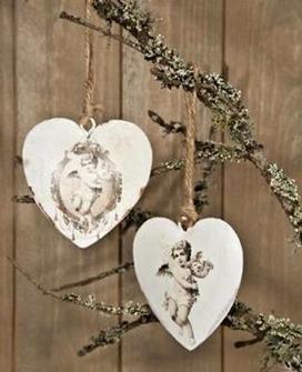 Hjärta med ängel -