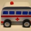 B Träbilar - Ambulans